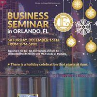 Business Seminar and Training in Orlando FL