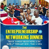 YEPI 2nd Entrepreneurship &amp Networking Dinner