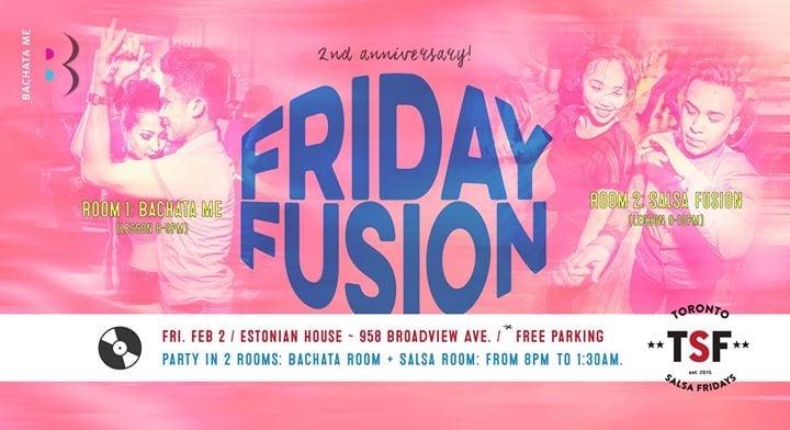 Friday Fusion Anniversary