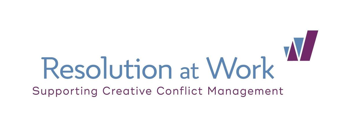 The Art & Science of Conflict Management Words Matter - Taster Session