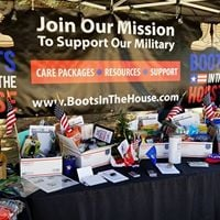 Boots In The House Care Packages For Heroes - Holiday Cheer 2017
