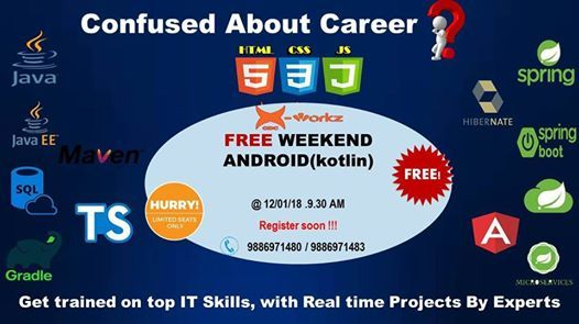 Free Android Weekend
