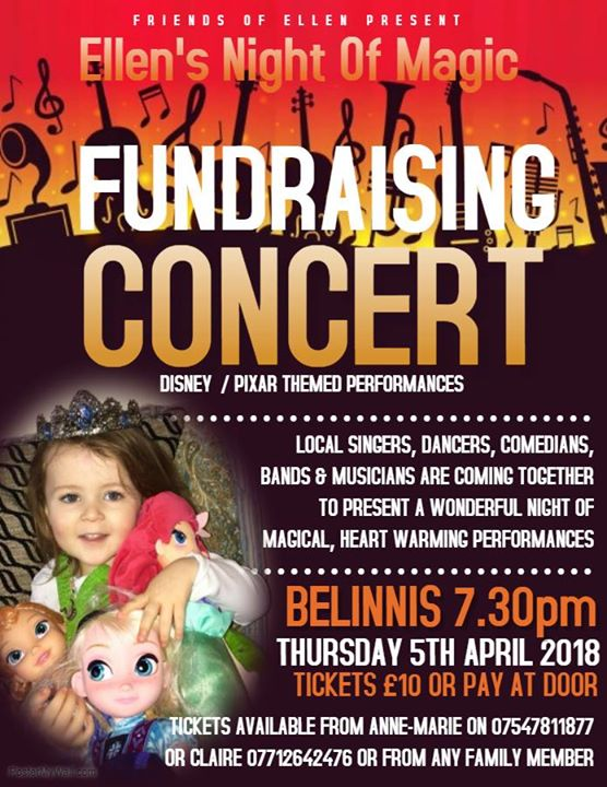 Ellens Night Of Magic - Fundraising Concert