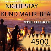 Night Stay at Kund Malir Beach 2017