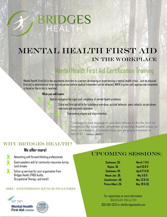 Mental Health First Aid Certification Workshop at Days Inn Prince ...