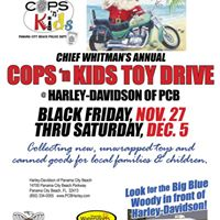 Cops N Kids Toy Drive