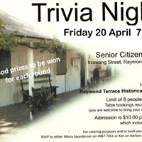 Trivia FUNdraising Night