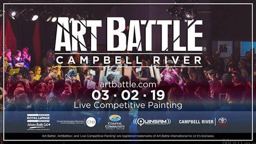 Art Battle Campbell River - March 2 2019