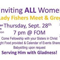 Lady Fishers Meet and Greet