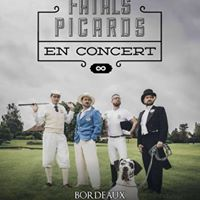 Les Fatals Picards Bordeaux - Rock School Barbey