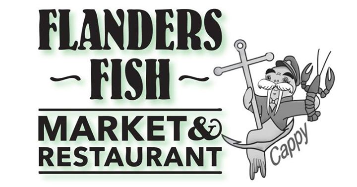 Museum dine out with flanders fish market restaurant at for Flanders fish market