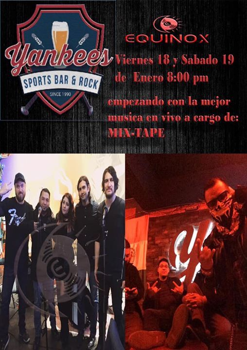 Equinox en Yankees sport bar