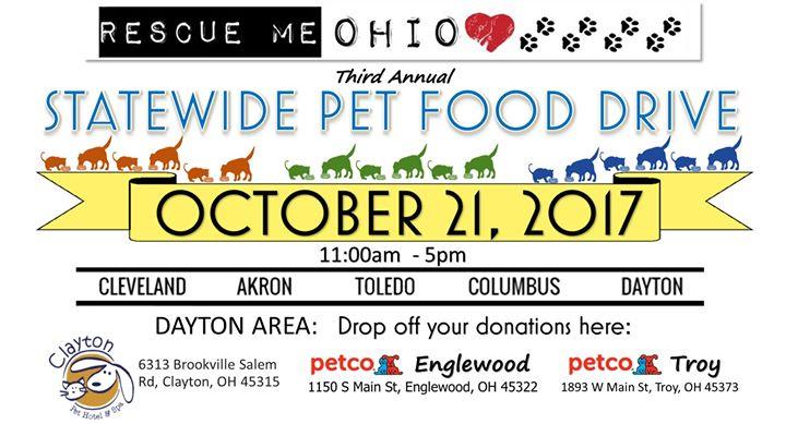 2017 Statewide Pet Food Event Dayton At Dayton Oh Dayton