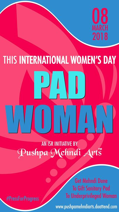 Mehndi Event During International Womens Day 2018