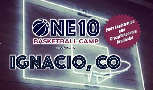 ONE10 Basketball Camp- Ignacio CO