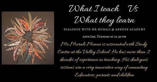 Dialogue Session with Mr Murali