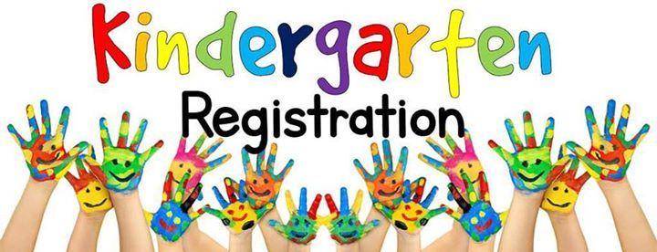 Kindergarten Registration 2019-2020