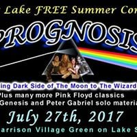 Free Outdoor Show Pink Floyd and Genesis in West Harrison NY