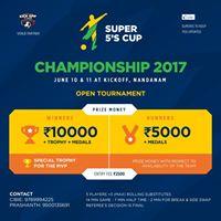 Super 5s championship 2017
