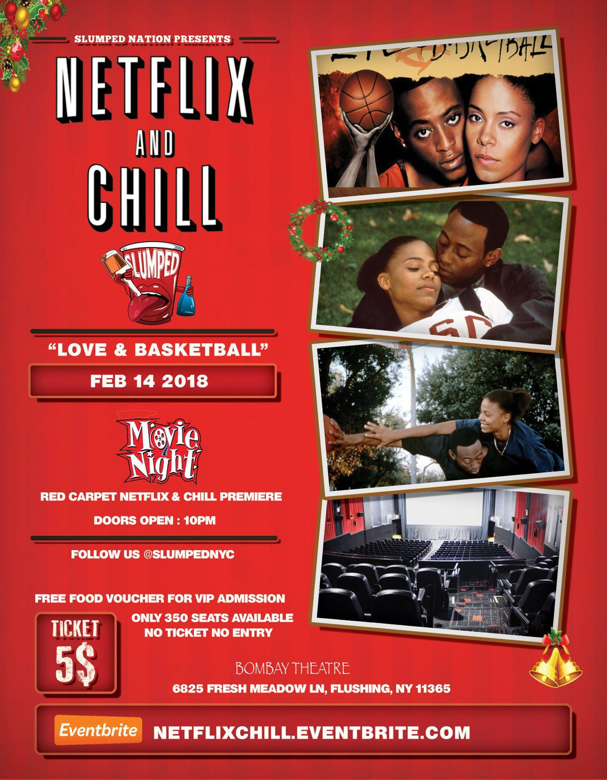 Netflix Chill Love Basketball At Bombay Theatre Queens