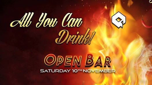 All you can drink party vol2 on saturday 10th november