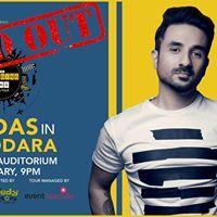 Vir Das live in Vadodara - BoardingDAS Tour