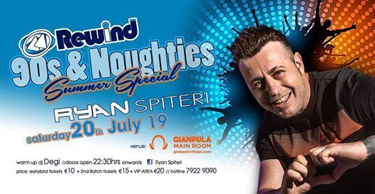 Rewind 90s & Noughties With Ryan Spiteri (Summer Special)