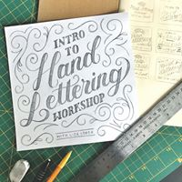 Intro to Hand Lettering Workshop w Lisa Lorek