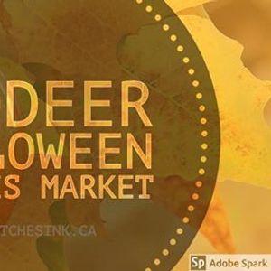 Halloween Red Deer Witches Market