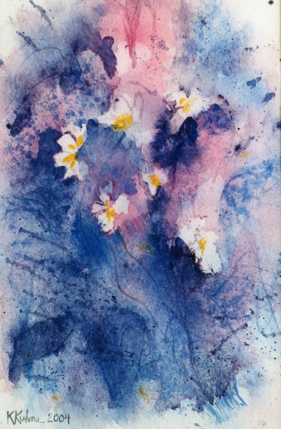 The Zen Approach to Flowers in Watercolor with Kevin Kuhne