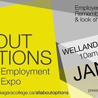 All About Options Employment Expo Welland Jan 24