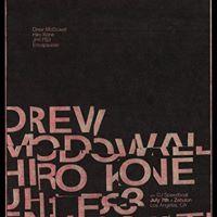 Drew McDowall Hiro Kone JH1.FS3 and Encapsulate w DJ Speedboat