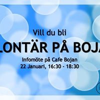 Volunteer at Bojan Info meeting