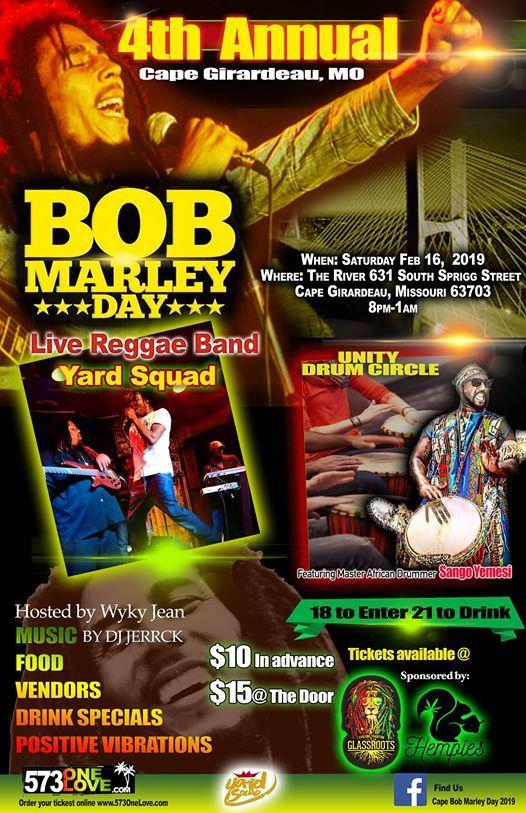 Cape Bob Marley Day 2019