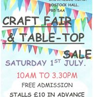 Craft Fair And Table Top