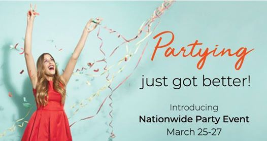 Gold Canyon Nationwide Online Party March 25th