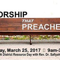 Worship that Preaches