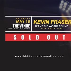 Kevin Fraser Live in Harare  Leave The World Behind