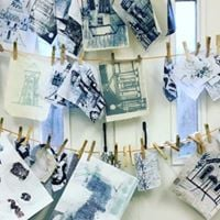 Who Am I Student Print Workshop