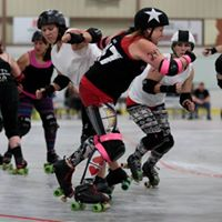 Sunday Scramble - Roller Derby Scrimmage April 30th Baraboo WI
