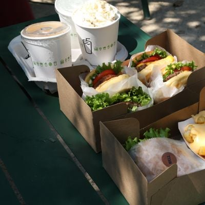Quiet Clubbing Dance Party and FREE Burger at Bostons Shake Shack