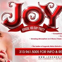 JOY Legends Annual Holiday Party