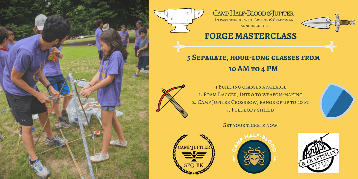 Camp Half-Blood and Jupiter Forge Workshop