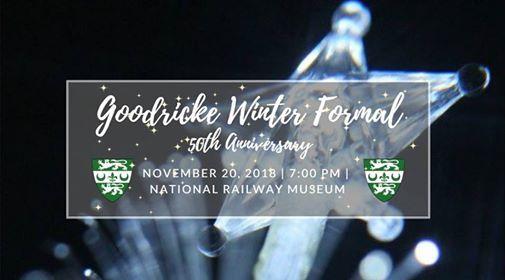 Goodricke Winter Formal 2018