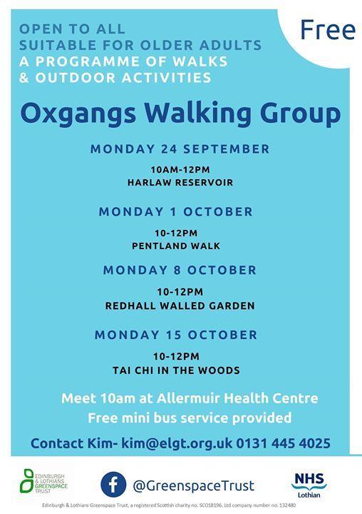 Oxgangs Walking Group