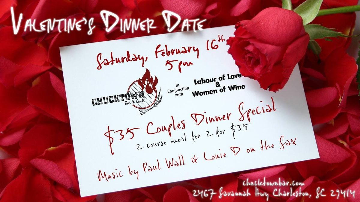Valentines Dinner Date l 2 for 35