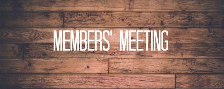 Members Meeting & Meal