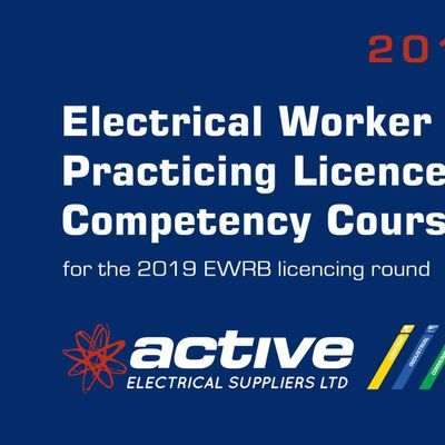 Electrical Workers Competency Programme by Active Electrical - Blenheim