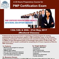 A 35 Hours Preparatory Course for &quotPMP Certification&quot Exam