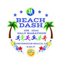 Beach Dash 10k 10mi Half Marathon